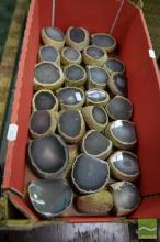 Box of Agate Ends Polished