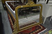 Timber Frame Mirror With Ornate Carvings