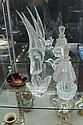 Orrefors Dish with Various Other Crystal & Glass incl a Bird Figure