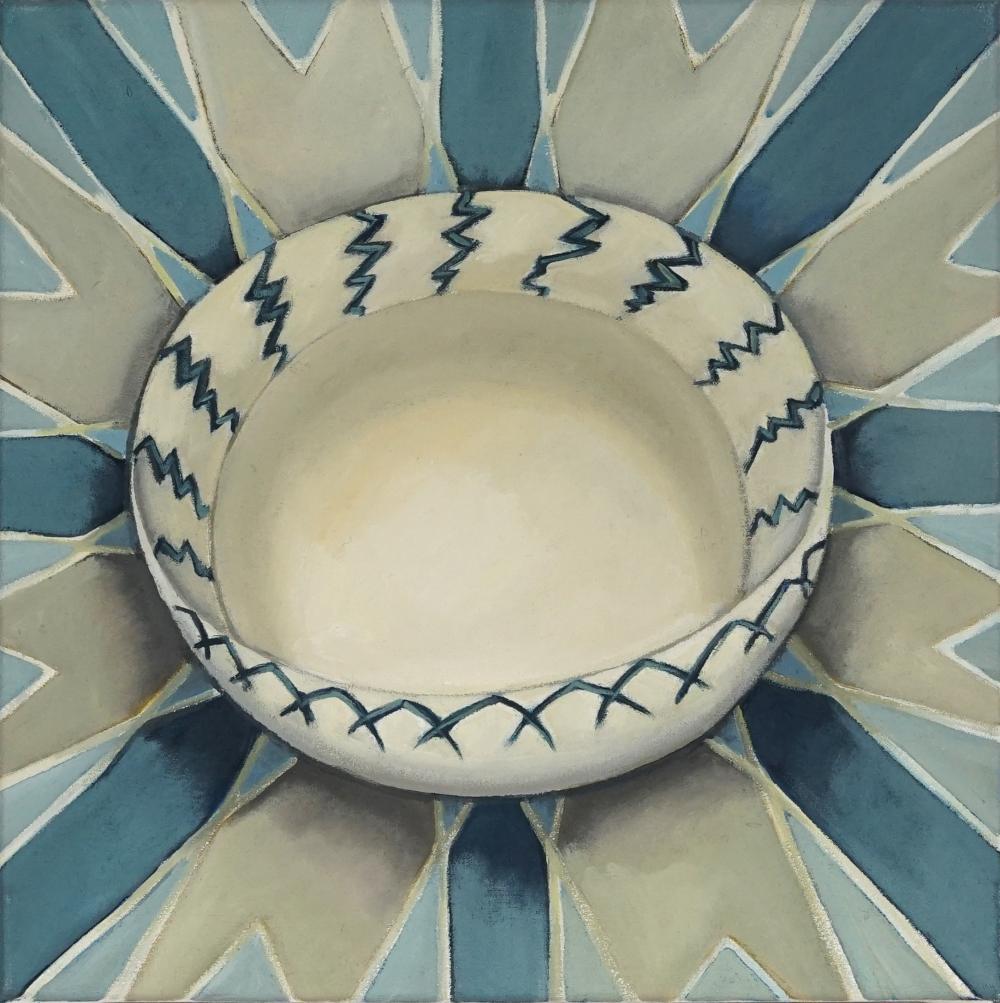 Margot Hutcheson (1952 - ) - Creamy, 1997 35.5 x 35.5cm