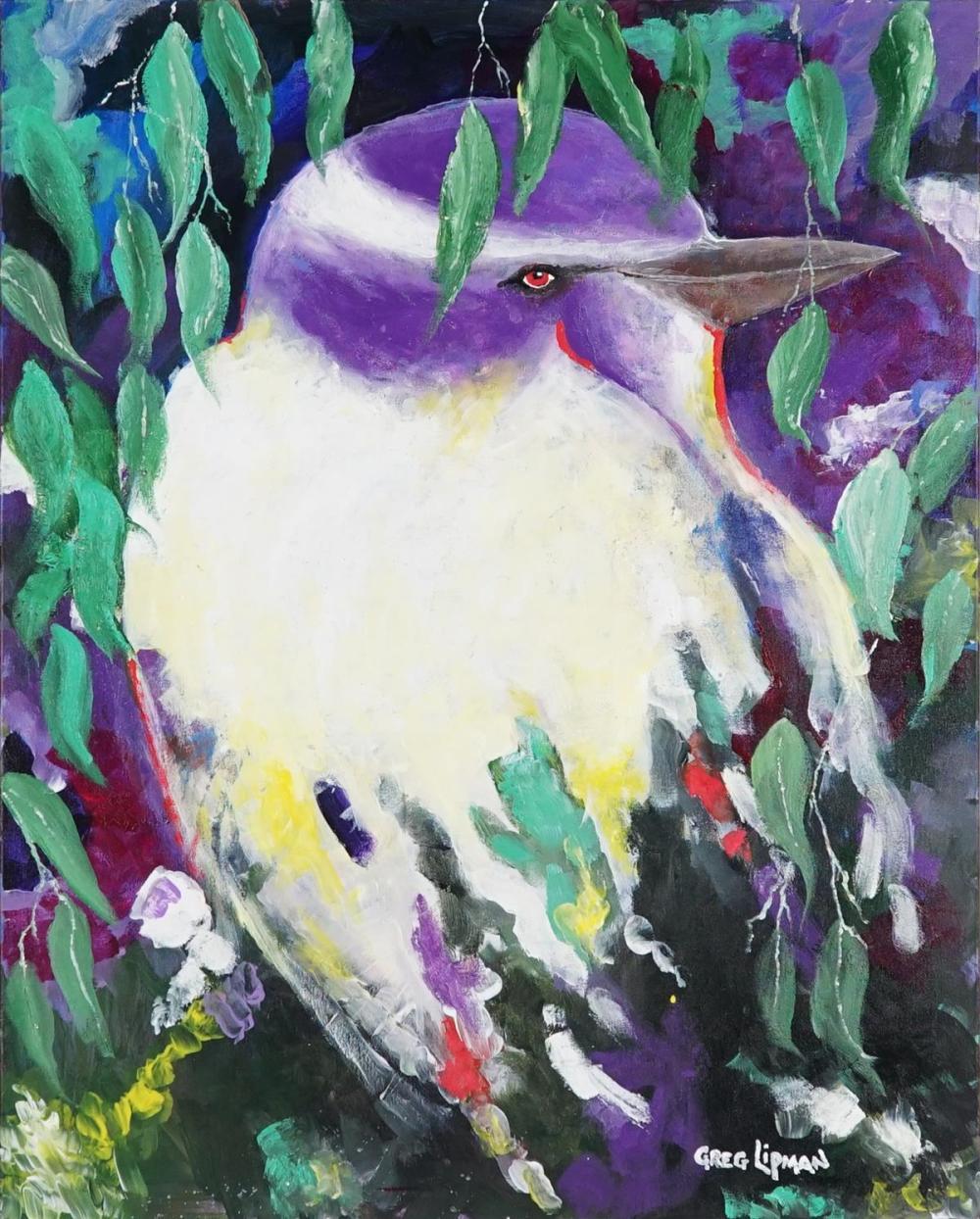Greg Lipman (1938 - ) - L'amore 76 x 61cm