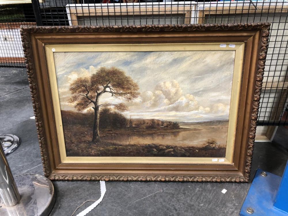 Artist Unknown - 'Landscape', oil on canvas, frame size 68 x 95cm