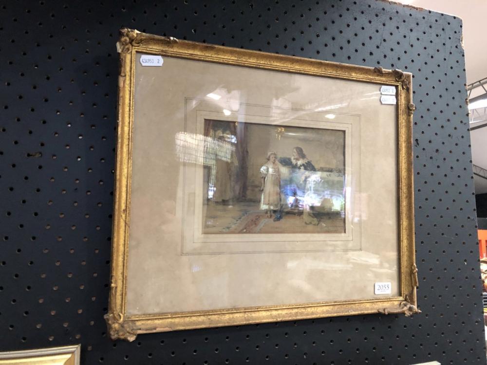 G.G Kilburn - 'Royalist', watercolour, frame size - 33 x 40cm, signed lower right