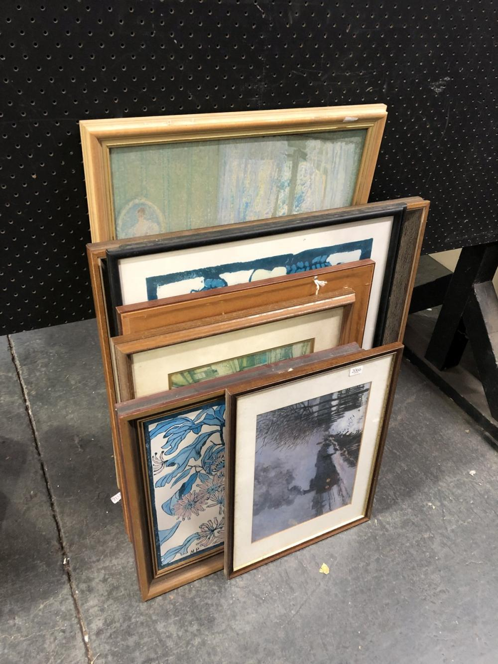 Group of Prints and Pictures incl Margaret Preston and Monet
