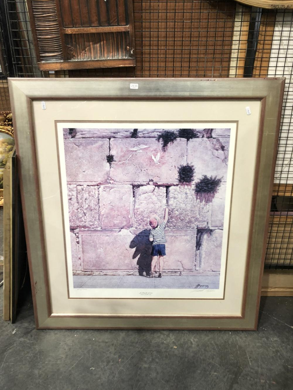 Frank Hopper Decorative Print, edition and signed
