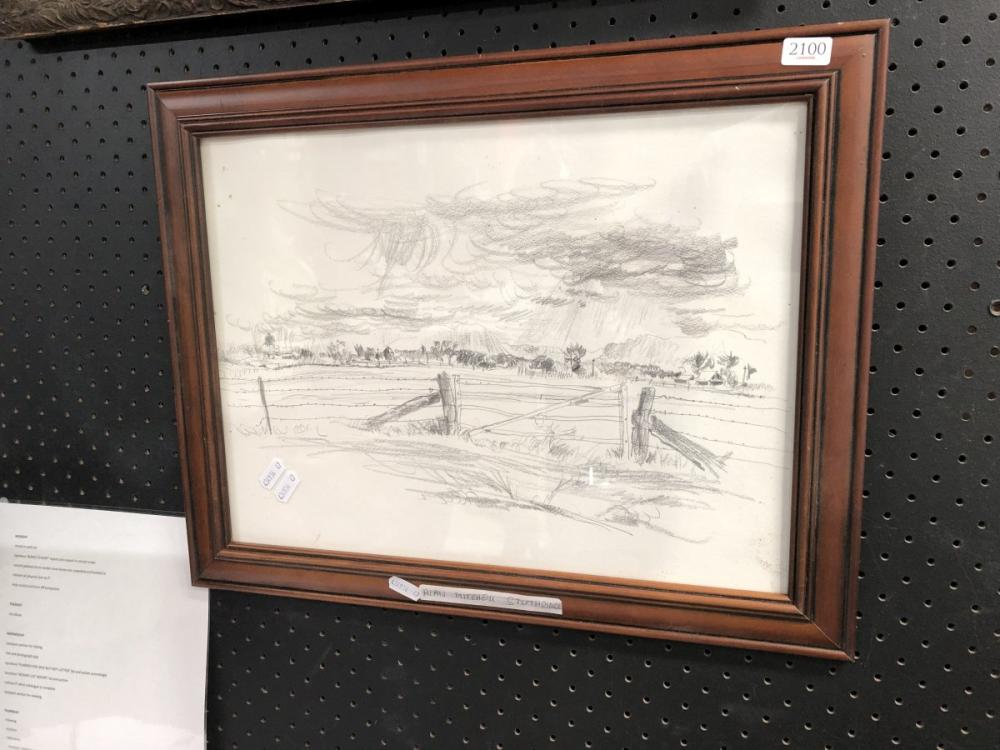 Pencil Sketch - Alan Stuthridge