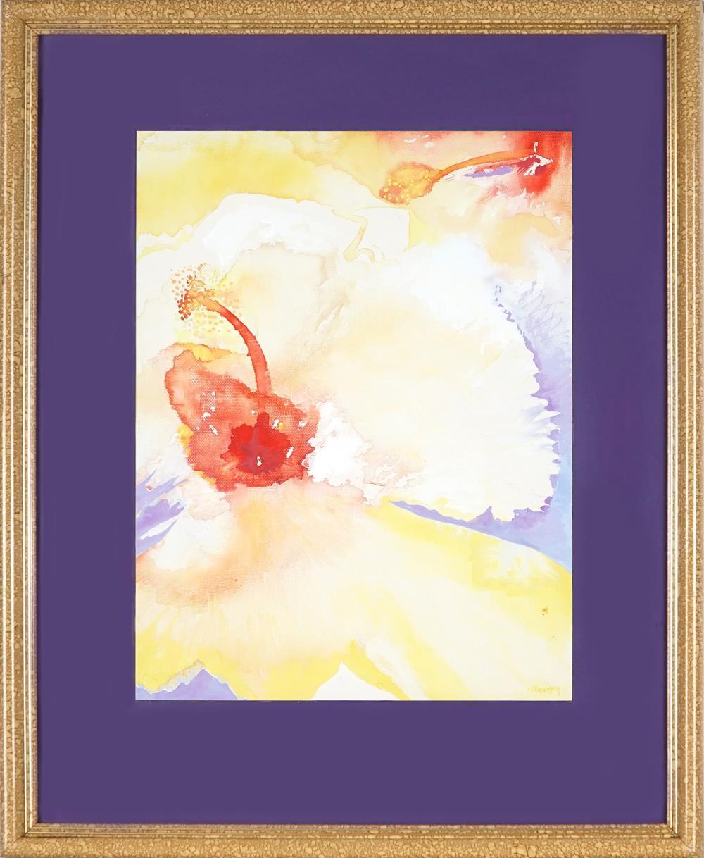 Denise Barry - Hibiscus I 39 x 28.5cm