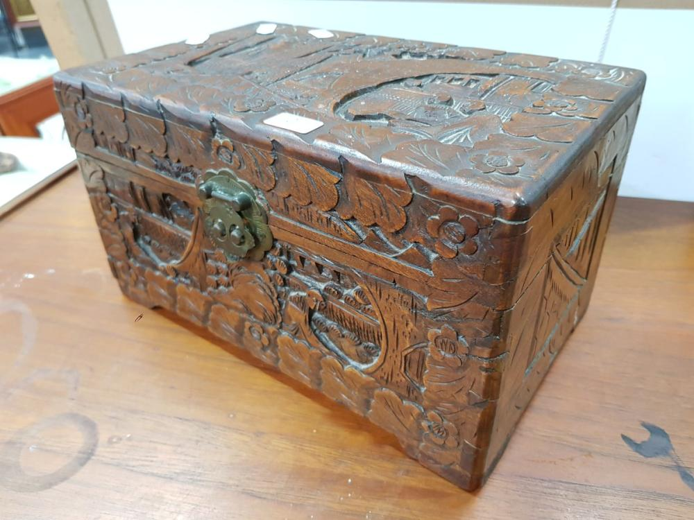 Small Camphor Box