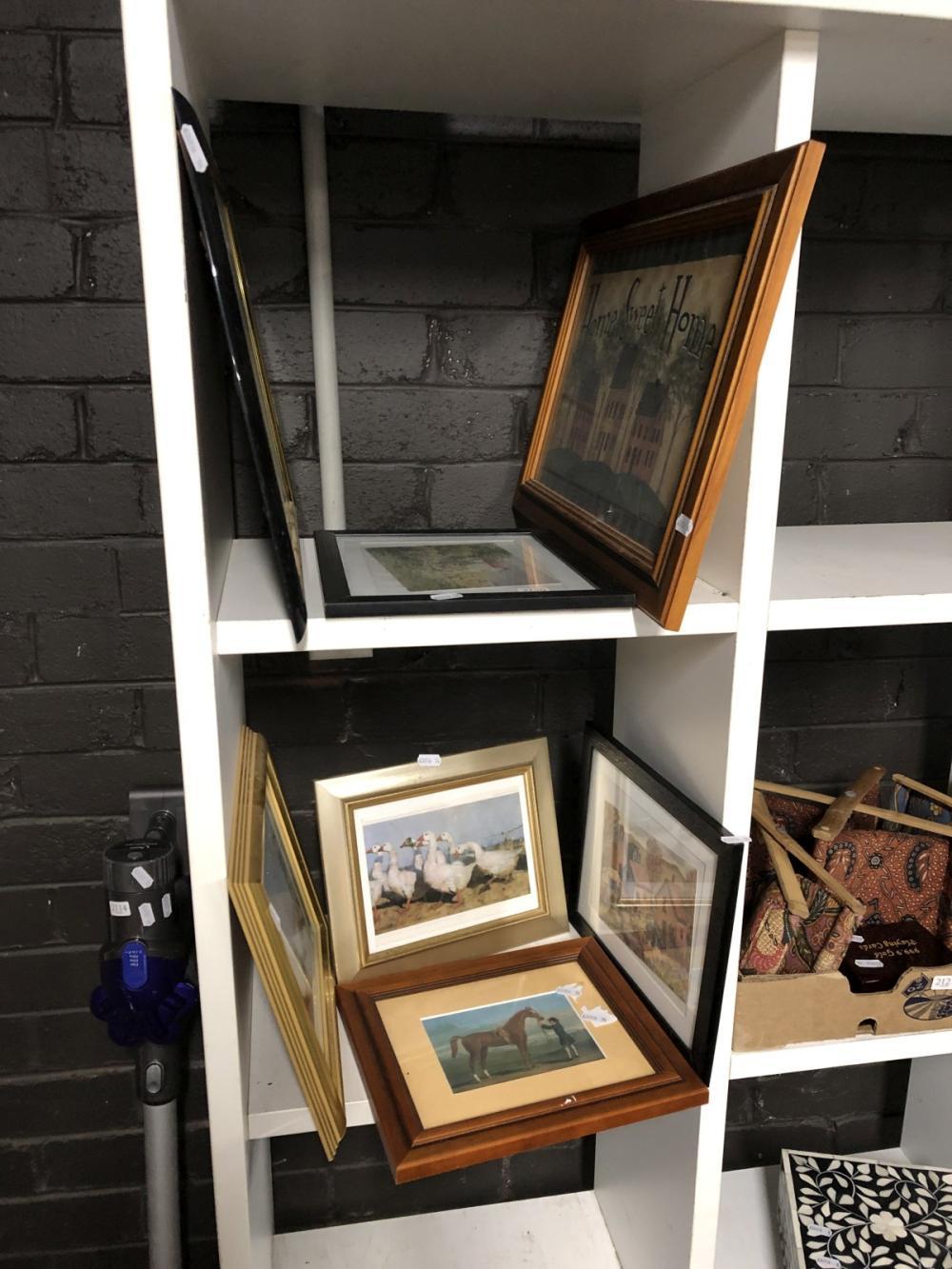 Set of Framed Prints (7)