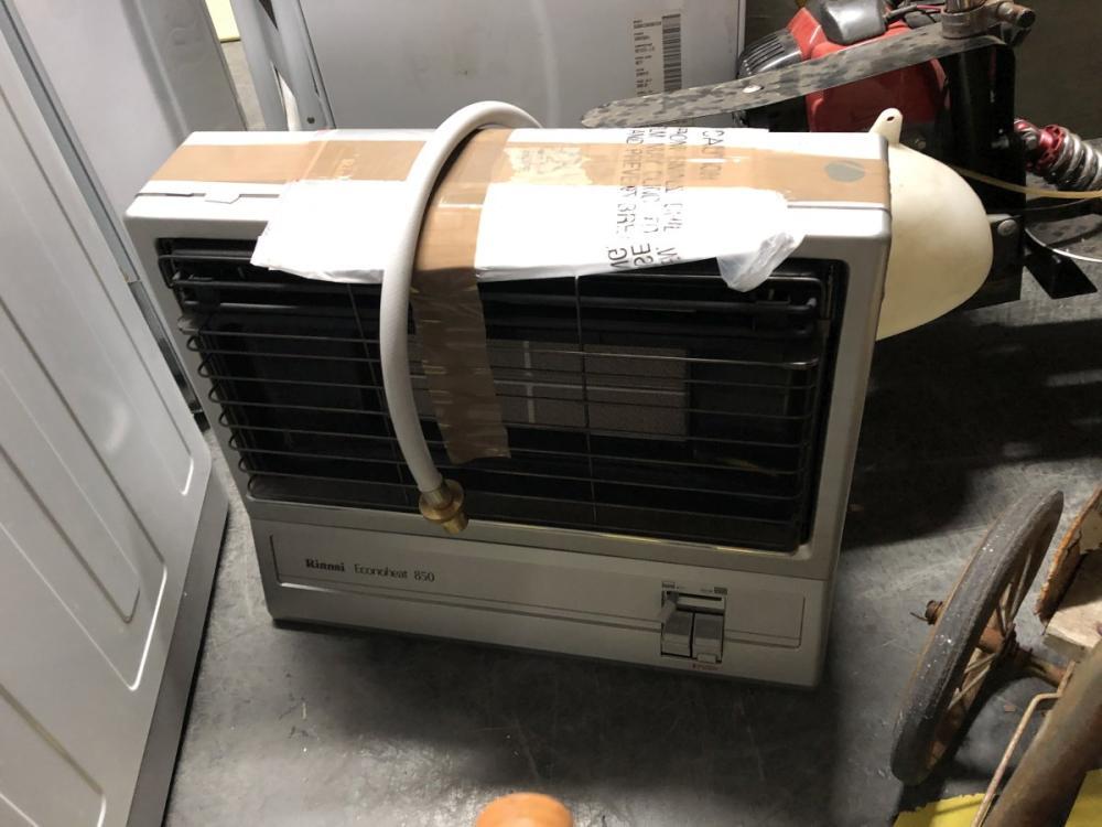 Rinnai Gas Heater Econoheat 850