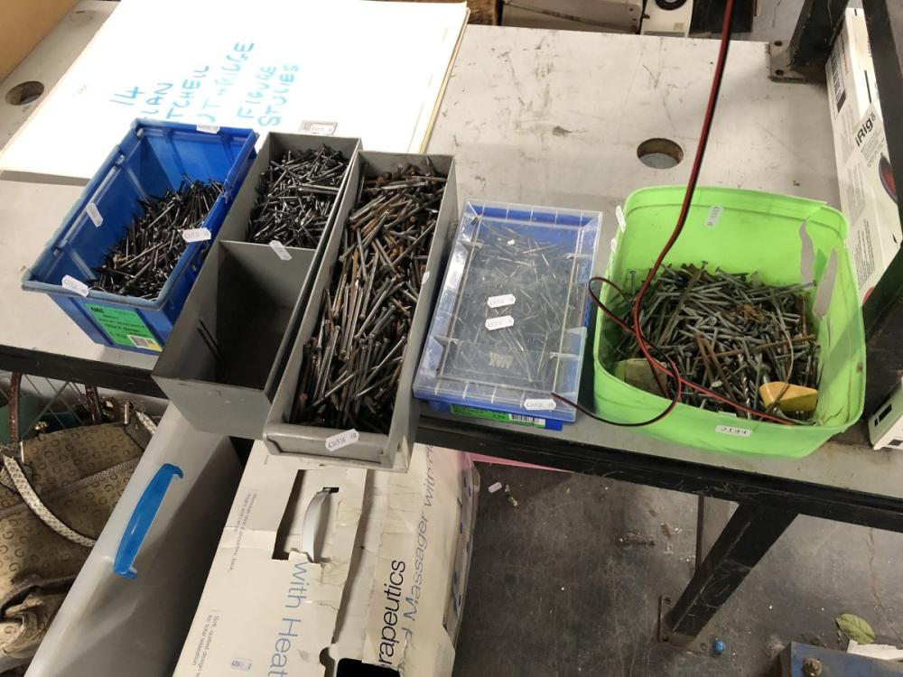 5 Boxes of Nails