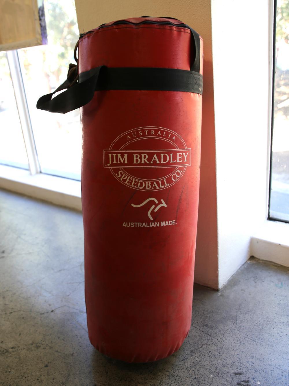 """Jim Bradley"" Punching Bag"