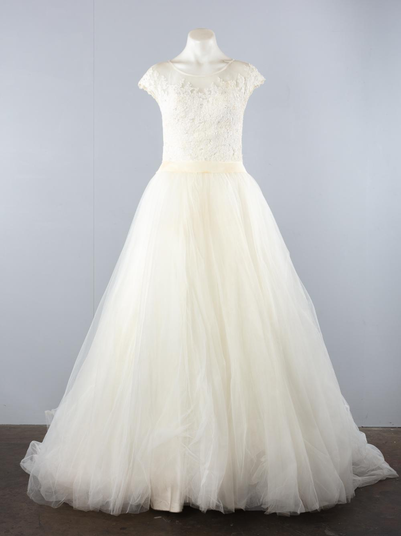 An Abbey Bridal Wedding Dress