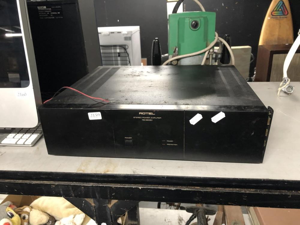 Rotel Power Amplifier