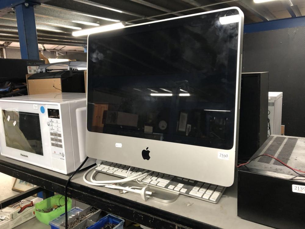 Apple iMac Computer & Keyboard (untested)