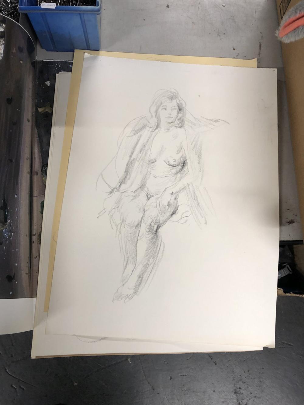 Pencil Sketches by Alan Southridge