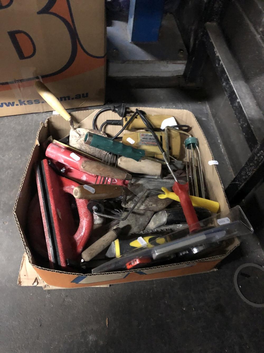 Box of Plasters Tools & Jigsaw