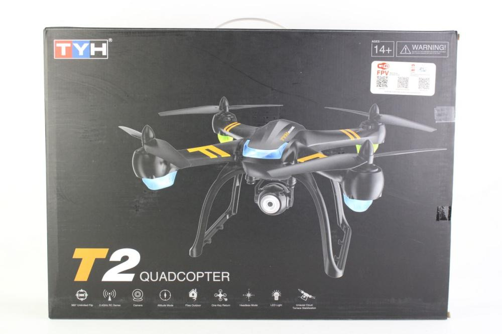 TYH - T2 Quadcopter Drone with Camera as new in box