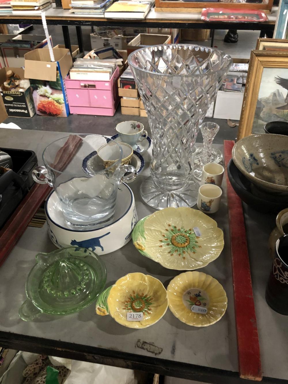 Collection of Ceramics incl Carltonware & Bunnykins, Adderley