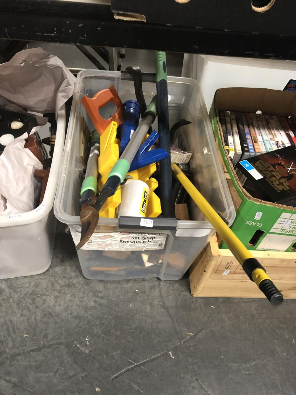 Tub Of Tools & Other Sundries