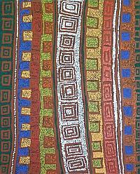 Patrick Tjungurrayi - Tingari 96 x 78cm