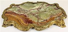 French Onyx & Ormolu Mount Surtout-de-Table