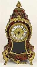 French Late 19th Century Boulle Style Clock