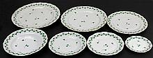 Herend Hand Painted Dinner Service for Twelve Persons