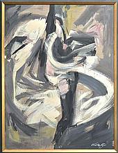 Herbert Kemble (1894 - 1986) - Can Can Dancers 120 x 90cm