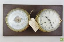 Schatz Dual Royal Mariner Clock And Barometer