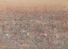 Basil Hadley (1940 - 2006) - Untitled, 1977 57.5 x 79 cm (frame: 75 x 95 x 3 cm)