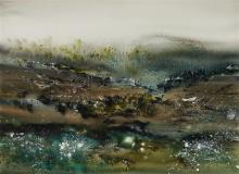 GEOFF DYER (1947 - 2020) Tasmanian Visions gouache on paper 55 x 75 cm (frame: 80 x 99 x 4 cm) signed lower right