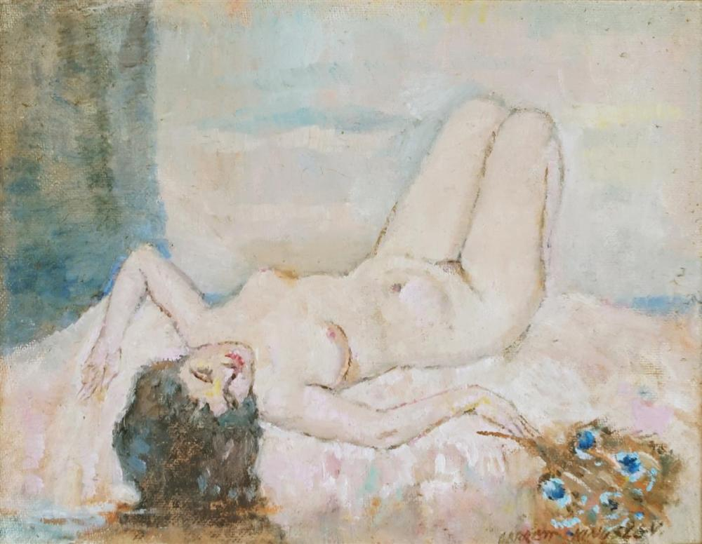 Garrett Kingsley (1915 - 1982) - Female Muse 19.5 x 25cm