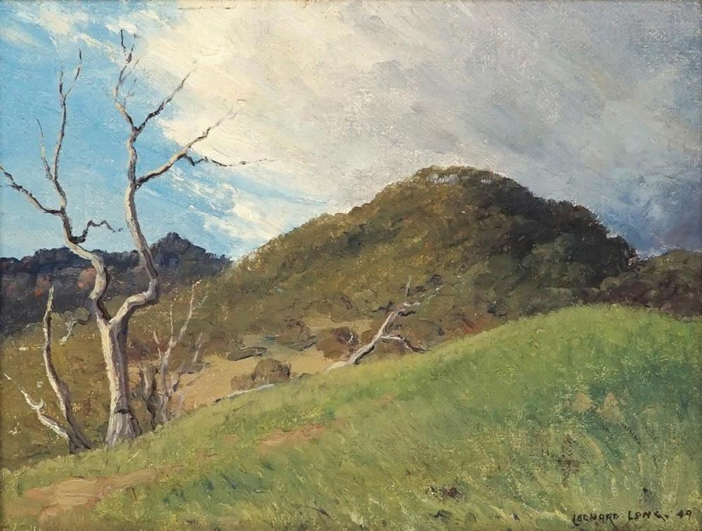 Leonard Long (1911 - 2013) - After the squall, Kangaroo Valley,1949 14 x 19cm