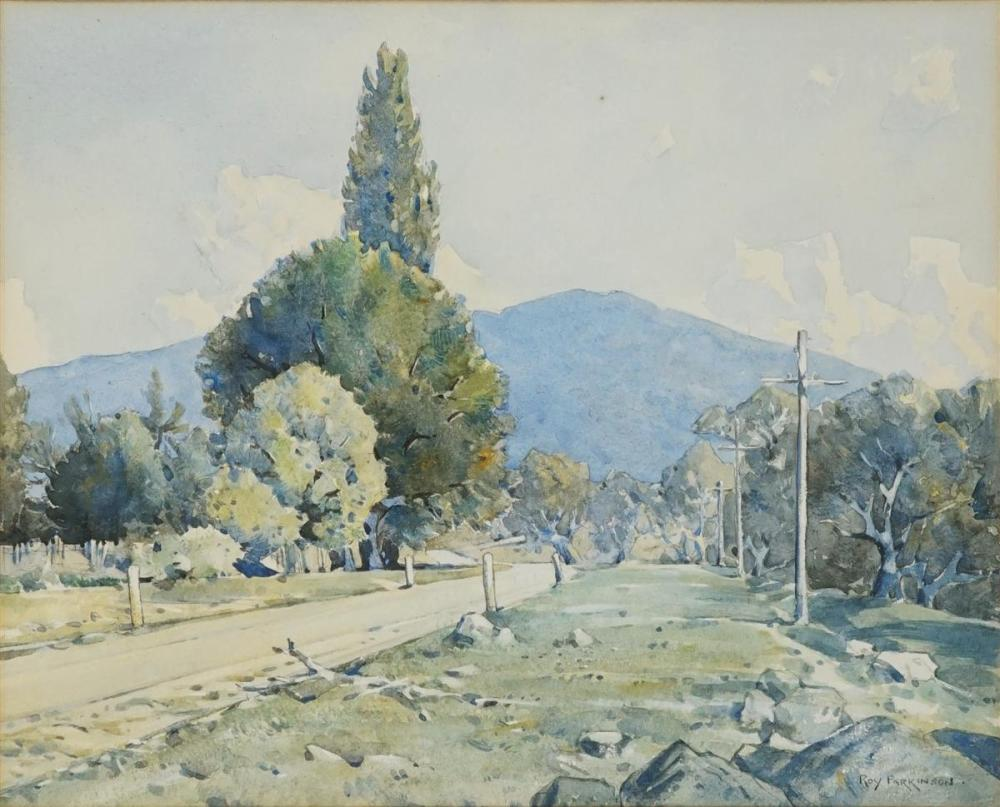 Roy Parkinson (1901 - 1945) - At Talbingo, NSW 30 x 38cm