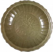 Celadon Inscribed Bowl