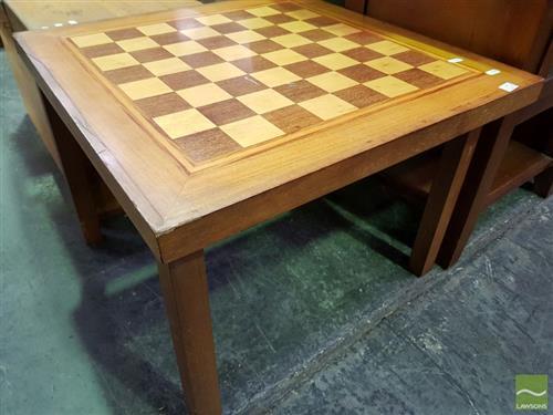 Chess Board Coffee Table