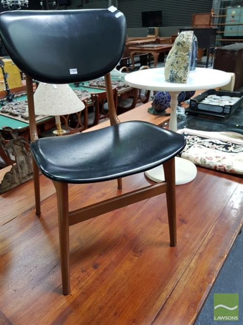 Retro Chair Round Top Side Table