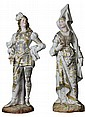 French Bisque Pair of Figures