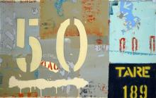 Michael Jeffery (1965 - ) - 50/50 67 x 105cm