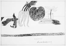 Charles Blackman (1928 - ) - Untitled (Still Life) 40 x 59cm