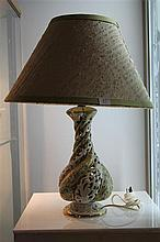 Italian Table Lamp w/ Lampshade