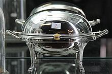 Victorian Silver Plated Warming Dish