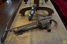 Vintage Bale Hook and Rabbit Trap