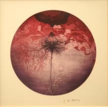 Michael Kempson (1961 - ) - Rose, 1998 d. 37.5cm