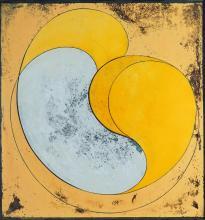 Geoff Thornley (1940 - ) - Untitled, 1973 76.5 x 72 cm (frame: 82 x 78 x 4 cm)