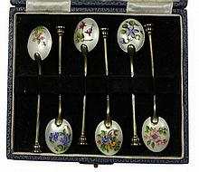 English Hallmarked Sterling Silver Coffee Spoons