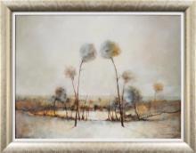 Eris Fleming (1943 - ) - Sun Rising, Drip stone 60 x 81cm