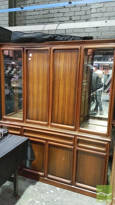 Display Cabinet Broken Side Glass Panel