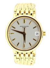Watch Patek Philippe Calatrava 18K Yellow Gold Apprisal Certifacate $45,000